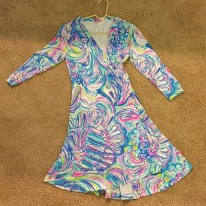 Size small Lilly Pulitzer wrap dress